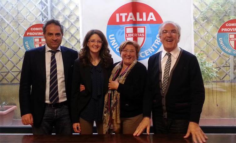 Presentata alla stampa la lista dell'Unione di Centro di Avellino